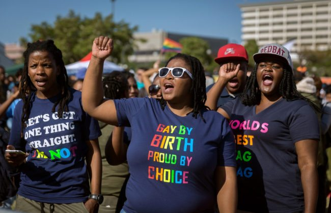 South Africa Pride parade (Getty)