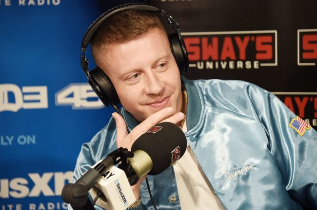 NEW YORK, NY - SEPTEMBER 14:  Rapper Macklemore appears Sway's Universe at SiriusXM Studios on September 14, 2017 in New York City.  (Photo by Michael Loccisano/Getty Images)