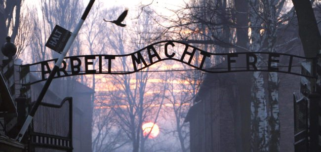 (FILES) Thhe Nazi Auschwitz death camp. (Photo by JANEK SKARZYNSKI/AFP/Getty Images)