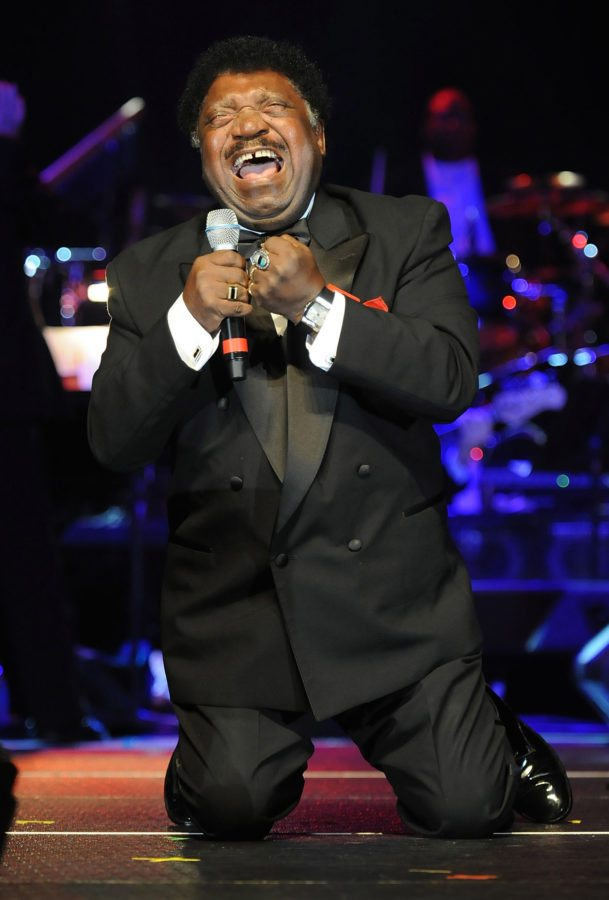 MONTGOMERY, AL - MARCH 25:  Singer/Songwriter Percy Sledge performs at the Alabama Music Hall of Fame's 13th Induction Banquet and Awards Show at the Renaissance Hotel on March 25, 2010 in Montgomery, Alabama.  (Photo by Rick Diamond/Getty Images)