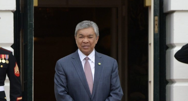Dr. Ahmad Zahid Hamidi, Deputy Prime Minister of Malaysia (Photo by OLIVIER DOULIERY/AFP/Getty Images)