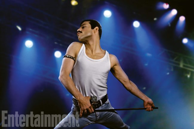 First Images Of Rami Malek As Freddie Mercury