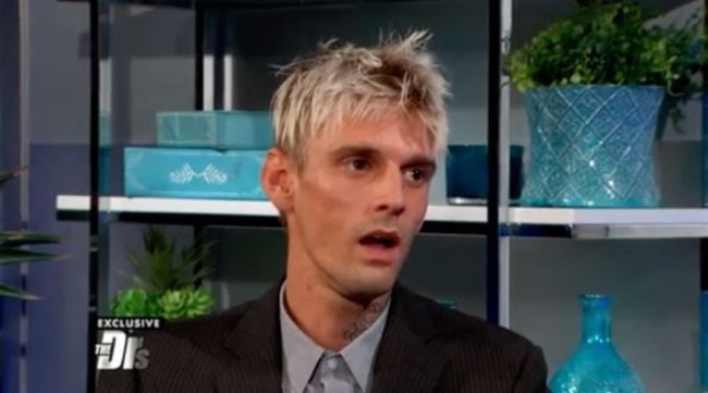 Police rush to home of Aaron Carter after reports he's 'on the verge