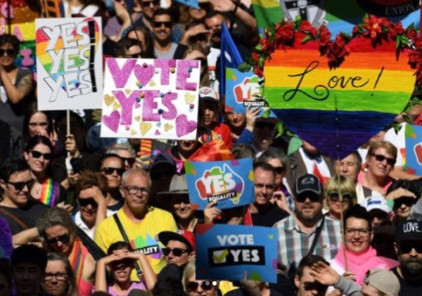 Liam Hemsworth urges Australia to vote YES to same-sex marriage