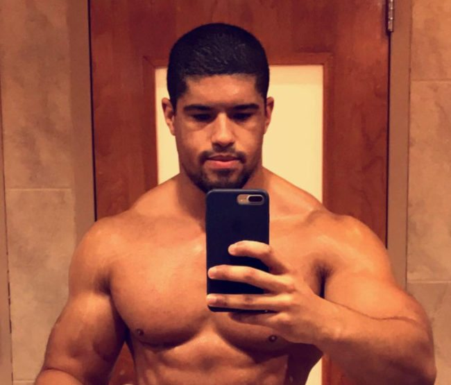 Gay wrestler Anthony Bowens