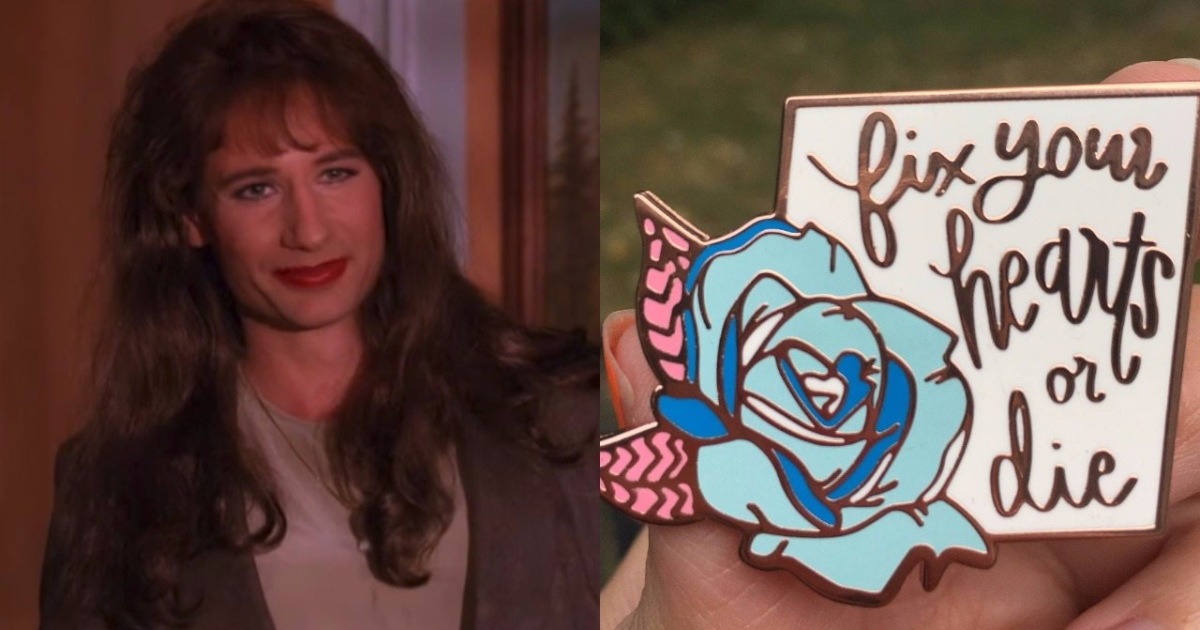 This Amazing Fix Your Hearts Or Die Twin Peaks Badge Is Raising