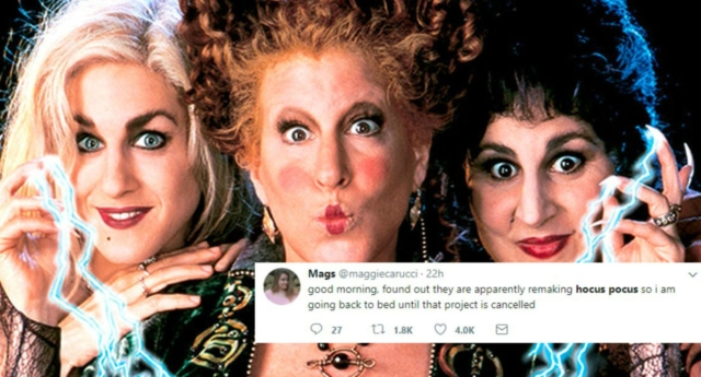 Disney Channel working on Hocus Pocus remake
