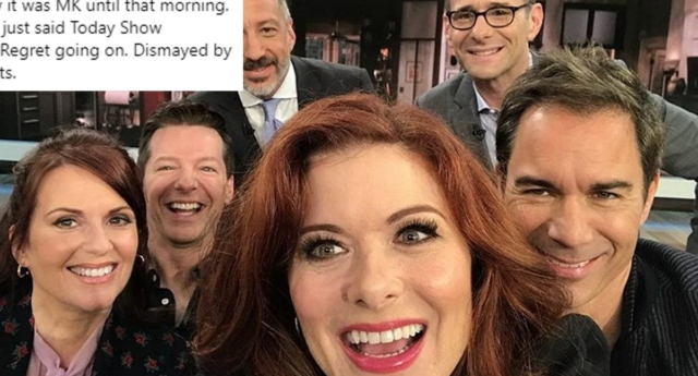 Debra Messing 'regrets' Megyn Kelly appearance after new 'Today' host's gay joke