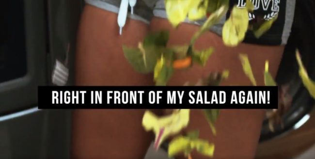 right in front of my salad sequel men