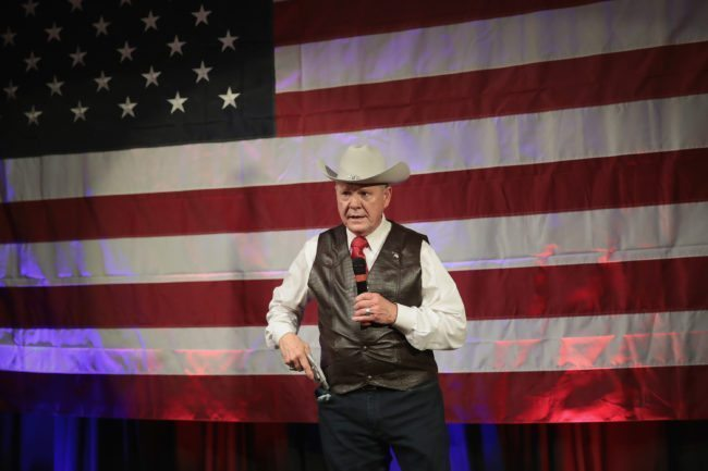 Moore will be a 'great senator'