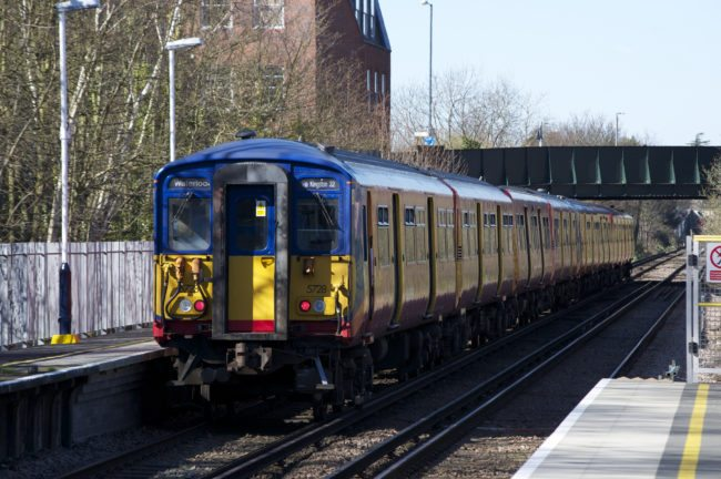 Wimbledon station commuters flee train in 'Bible' panic