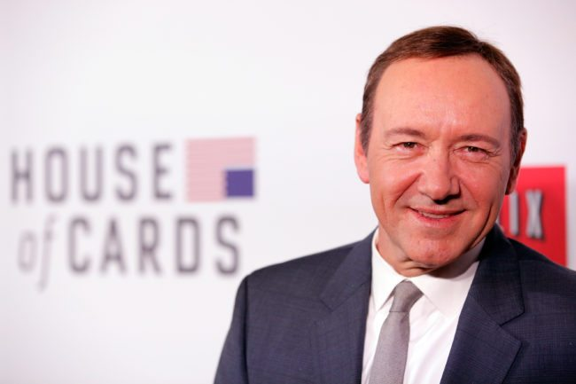 "NEW YORK, NY - JANUARY 30: Actor Kevin Spacey attends the Netflix's ""House Of Cards"" New York Premiere at Alice Tully Hall on January 30, 2013 in New York City. (Photo by Jemal Countess/Getty Images)"