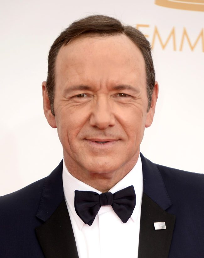 LOS ANGELES, CA - SEPTEMBER 22: Actor Kevin Spacey arrives at the 65th Annual Primetime Emmy Awards held at Nokia Theatre L.A. Live on September 22, 2013 in Los Angeles, California. (Photo by Frazer Harrison/Getty Images)