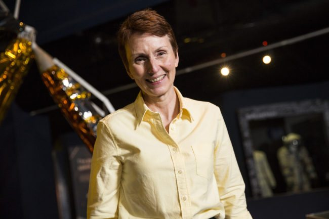 LONDON, ENGLAND - MAY 20: British astronaut Helen Sharman attends an event to mark 25 years since her space mission hosted by the Science Museum on May 20, 2016 in London, England. Ms Sharman became the first Briton into space and the first female astronaut to visit the Mir space station in 1991, as part of Project Juno, a UK-Soviet cooperative programme. (Photo by Jack Taylor/Getty Images)