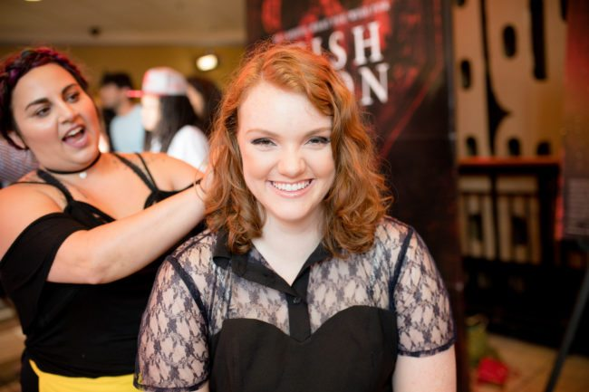 ATLANTA, GA - JULY 11:  Actress Shannon Purser attends the 'Wish Upon' Atlanta screening at Regal Cinemas Atlantic Station Stadium 16 on July 11, 2017 in Atlanta, Georgia.  (Photo by Marcus Ingram/Getty Images for Broad Green Pictures)