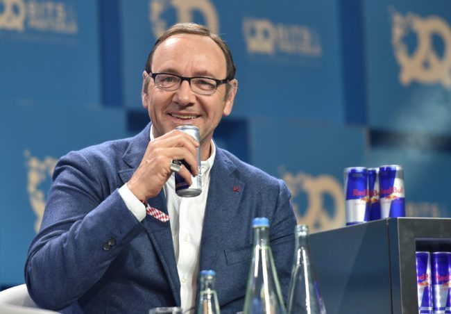 MUNICH, GERMANY - SEPTEMBER 24: Actor Kevin Spacey during the 'Bits & Pretzels Founders Festival' at ICM Munich on September 24, 2017 in Munich, Germany. (Photo by Hannes Magerstaedt/Getty Images for Bits & Pretzels)