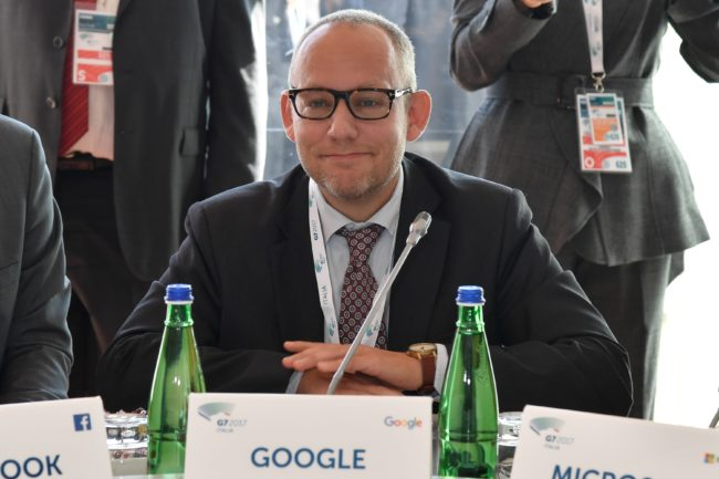 Vice President for Public Policy at Google Nicklas Lundblad (Getty)