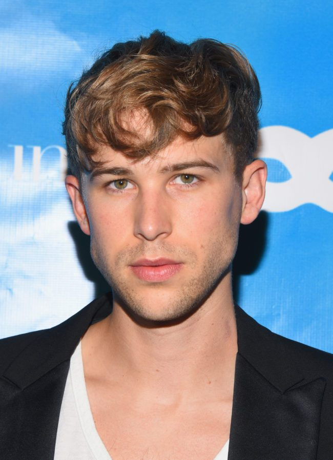 LOS ANGELES, CA - OCTOBER 27:  Tommy Dorfman at the UNICEF Next Generation Masquerade Ball at Clifton's Republic on October 27, 2017 in Los Angeles, California.  (Photo by Araya Diaz/Getty Images for UNICEF USA)