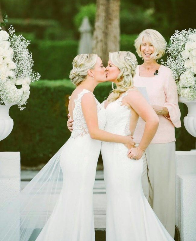 Congratulations Megan & Whitney (Lovers of Love/Dancing With Her/Instagram)
