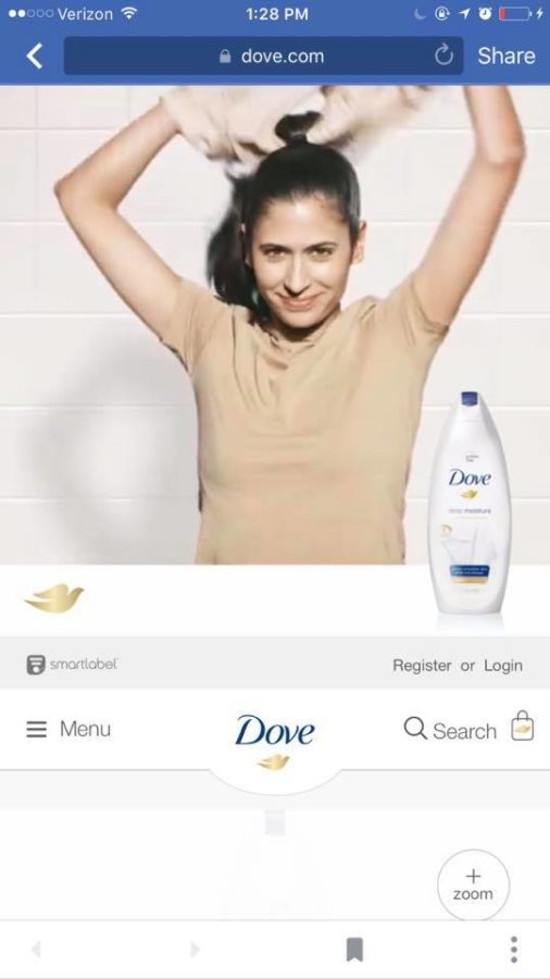"The third person in the ""racist"" Dove advert"