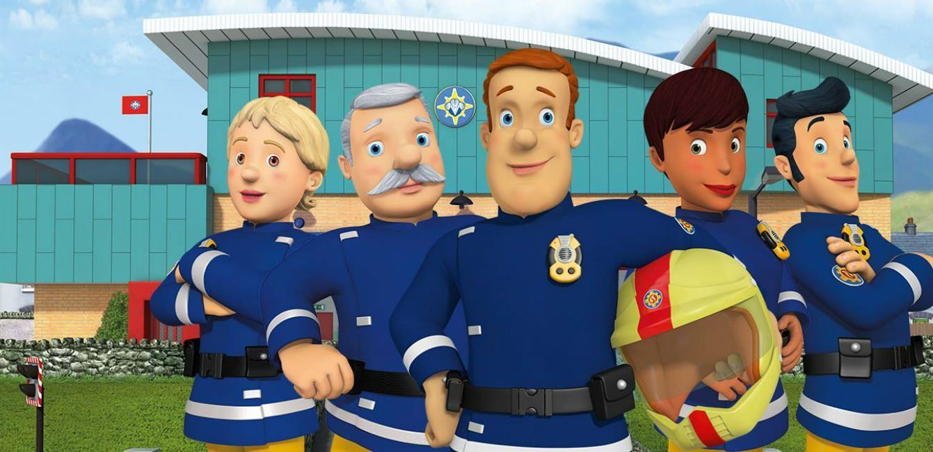 It is an image of Satisfactory Fireman Sam Pic