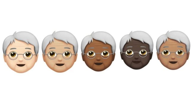 Genderless seniors (Apple)