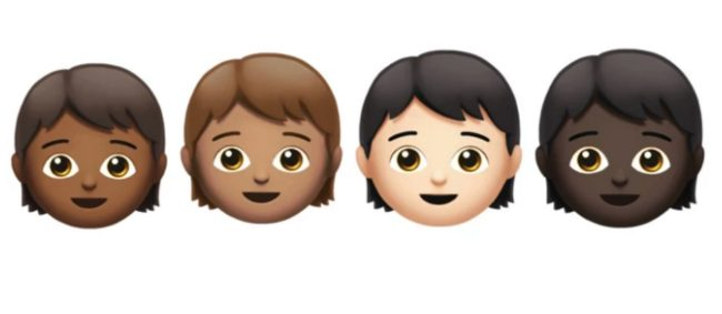 Genderless kids (Apple)