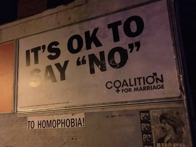 It's okay to say no to homophobia