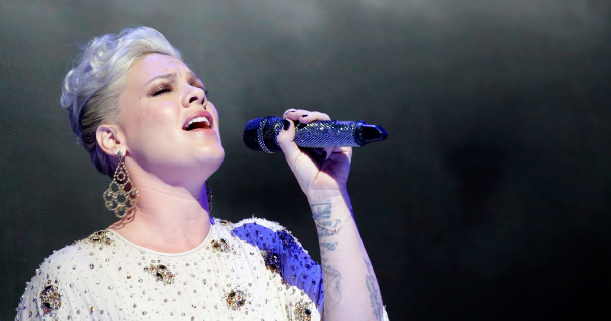 Pink opens up about sexuality