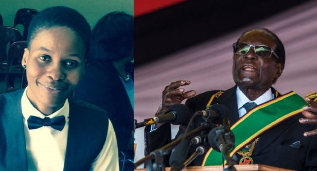 Joyline Maenzanise responds to the resignation of Zimbabwe's President Robert Mugabe