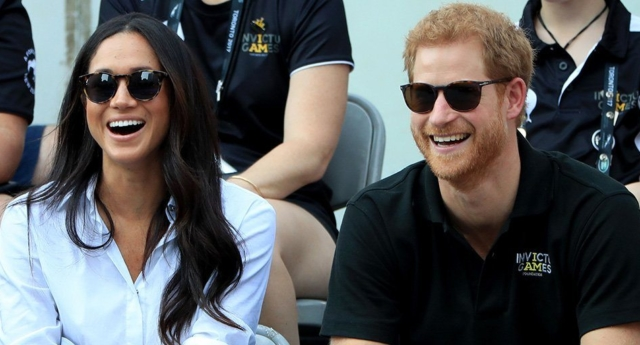 Prince Harry and Meghan Markle (Getty)