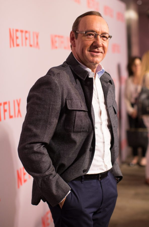 BEVERLY HILLS, CA - APRIL 27:  Actor Kevin Spacey arrives at Netflix's 'House Of Cards' Q&A screening event held at the Samuel Goldwyn Theater on April 27, 2015 in Beverly Hills, California.  (Photo by Mark Davis/Getty Images)