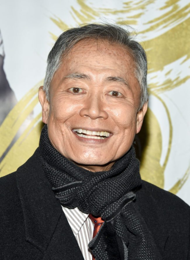 "NEW YORK, NY - DECEMBER 20:  George Takei attends the ""Fiddler On The Roof"" Broadway opening night at Broadway Theatre on December 20, 2015 in New York City.  (Photo by Grant Lamos IV/Getty Images)"