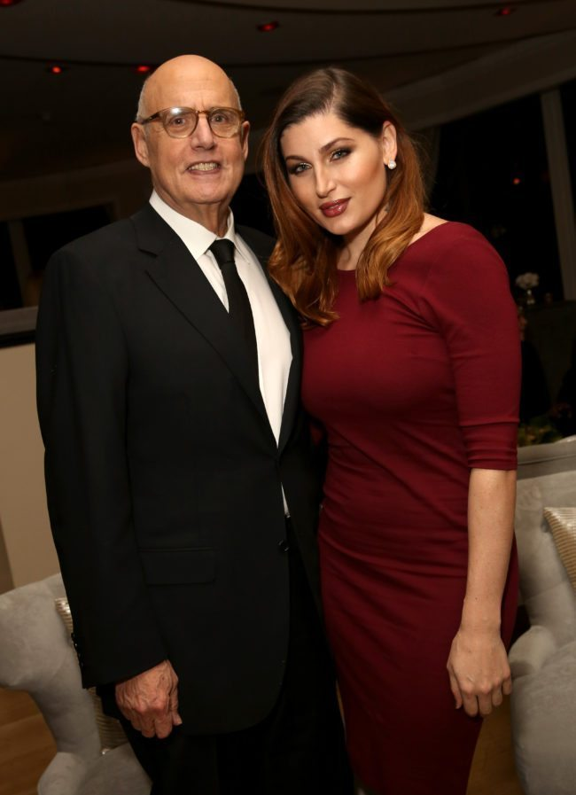 BEVERLY HILLS, CA - JANUARY 10: Actor Jeffrey Tambor (L) and Actress Trace Lysette attend Amazon's Golden Globe Awards Celebration at The Beverly Hilton Hotel on January 10, 2016 in Beverly Hills, California. (Photo by Rachel Murray/Getty Images for Amazon Studios)