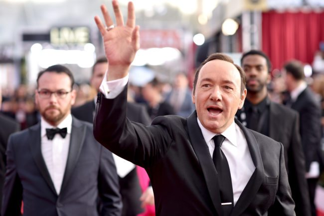 LOS ANGELES, CA - JANUARY 30: Actor Kevin Spacey attends The 22nd Annual Screen Actors Guild Awards at The Shrine Auditorium on January 30, 2016 in Los Angeles, California. 25650_013 (Photo by Dimitrios Kambouris/Getty Images for Turner)