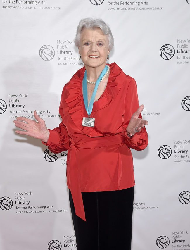 NEW YORK, NY - FEBRUARY 01:  Angela Lansbury attends The New York Public Library For The Performing Arts' 50th Anniversary Gala at The New York Public Library - Stephen A. Schwarzman Building on February 1, 2016 in New York City.  (Photo by Jamie McCarthy/Getty Images)