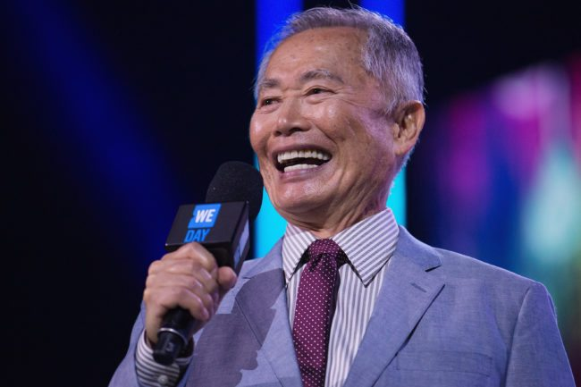 SEATTLE, WA - APRIL 20:  Actor, Director, Author and Activist George Takei speaks on stage during We Day at KeyArena on April 20, 2016 in Seattle, Washington.  (Photo by Mat Hayward/Getty Images for We Day)