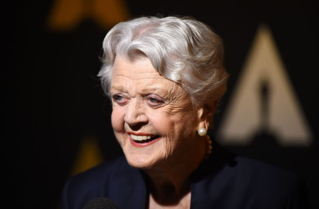 "Actress Angela Lansbury attends a special screening and panel discussion of ""Beauty and the Beast"" to celebrate the animated film's 25th anniversary, May 9, 2016 at the Academy of Motion Picture Arts and Sciences (AMPAS) in Beverly Hills, California. / AFP / ROBYN BECK        (Photo credit should read ROBYN BECK/AFP/Getty Images)"