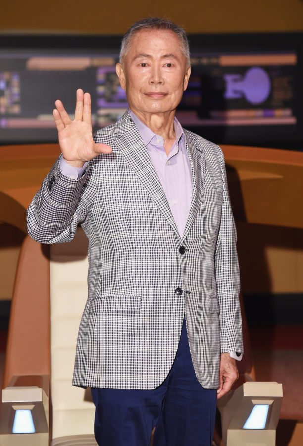 NEW YORK, NY - JUNE 30:  Actor George Takei attends the Star Trek: The Star Fleet Academy Experience Preview at Intrepid Sea-Air-Space Museum on June 30, 2016 in New York City.  (Photo by Michael Loccisano/Getty Images)