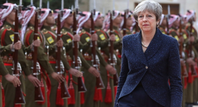 Prime Minister Theresa May was responsible for the decisions as Home Secretary (KHALIL MAZRAAWI/AFP/Getty Images)