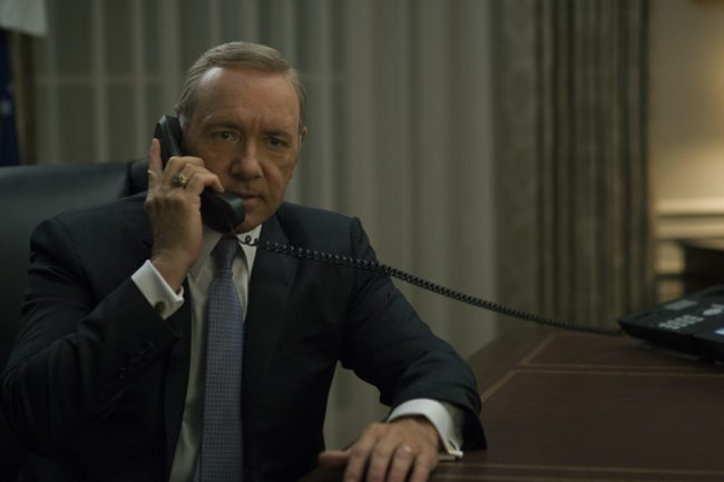 (Netflix) House of Cards spacey
