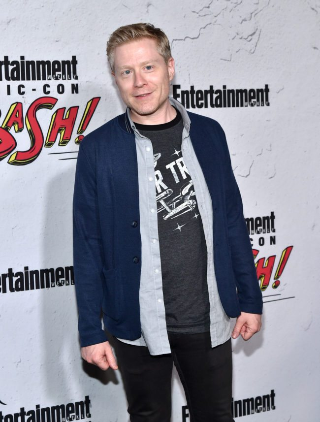 SAN DIEGO, CA - JULY 22:  Anthony Rapp at Entertainment Weekly's annual Comic-Con party in celebration of Comic-Con 2017  at Float at Hard Rock Hotel San Diego on July 22, 2017 in San Diego, California.  (Photo by Mike Coppola/Getty Images  for Entertainment Weekly)