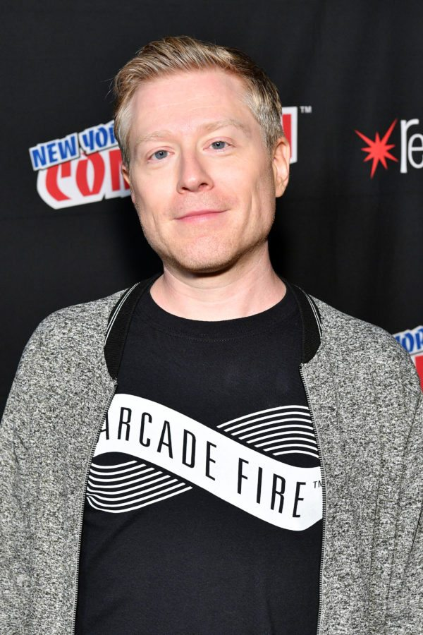 NEW YORK, NY - OCTOBER 07: Anthony Rapp attends the Star Trek: Discovery panel during 2017 New York Comic Con - Day 3 at Theater at Madison Square Gardenon October 7, 2017 in New York City. (Photo by Dia Dipasupil/Getty Images)