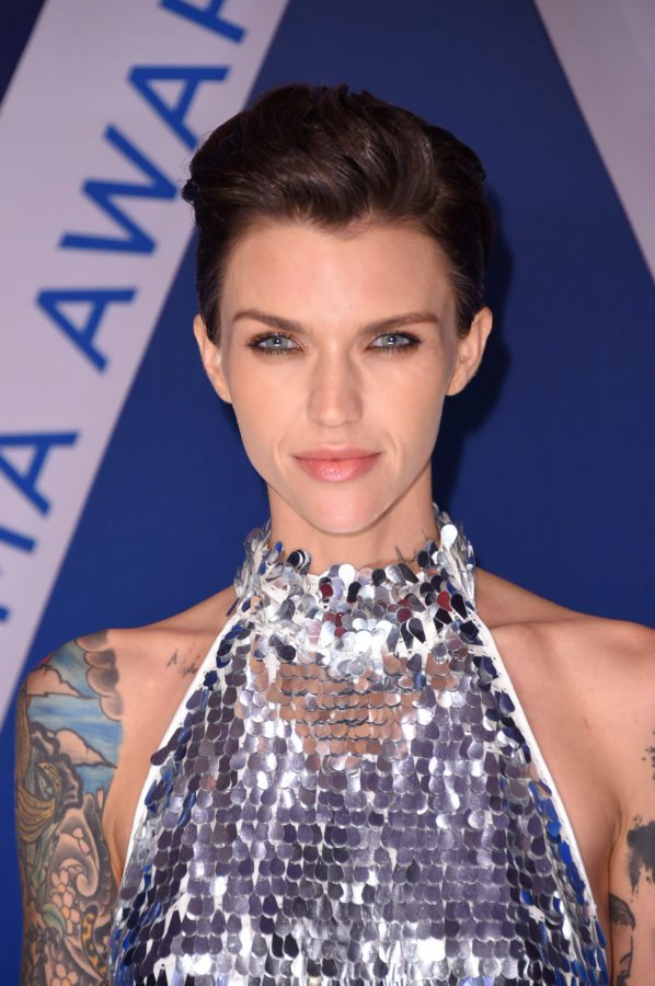 NASHVILLE, TN - NOVEMBER 08:  Actress Ruby Rose attends the 51st annual CMA Awards at the Bridgestone Arena on November 8, 2017 in Nashville, Tennessee.  (Photo by Michael Loccisano/Getty Images)