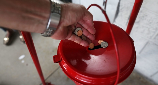 Salvation Army down thousands of dollars in donations