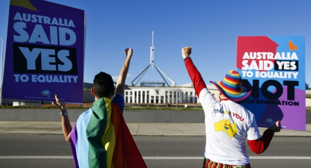 Australian same-sex couple can finally divorce