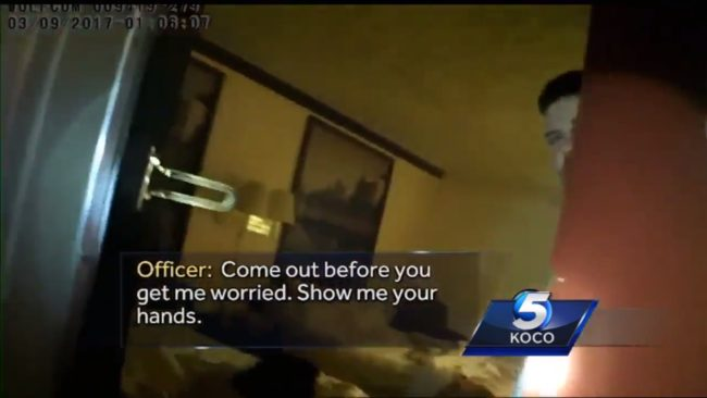 Moore police release videos of confrontation with senator at hotel