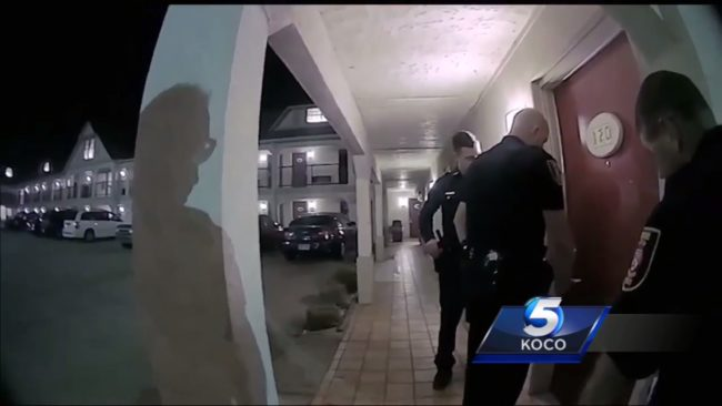 Police bodycam shows USA politician caught in hotel room with teen boy