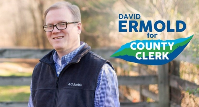David Ermold is coming for the clerk's position