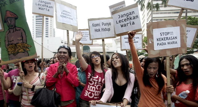 Gay and extramarital sex remains legal in Indonesia after court hearing